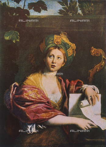 FDC-F-000272-0000 - Sibyl, Borghese Gallery, Rome