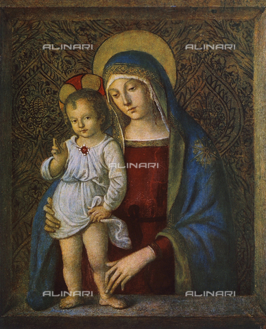 FDC-F-000303-0000 - Madonna with Child, Vatican Picture Gallery, Vatican City