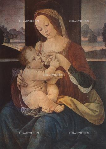 FDC-F-000311-0000 - Madonna che allatta il Bambino, Pinacoteca Vaticana, Città del Vaticano