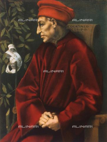 FDC-F-000349-0000 - Ideal Portrait of Cosimo the Elder, Uffizi Gallery, Florence