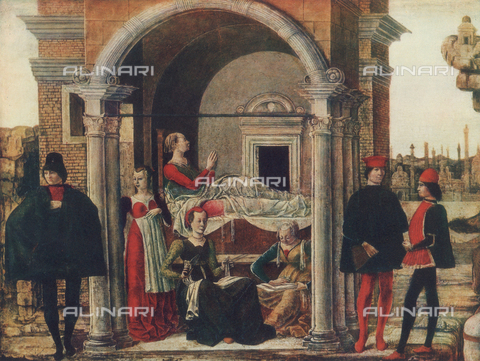 FDC-F-000472-0000 - The Miracles of San Giacinto, detail; Pinacoteca, Vatican City