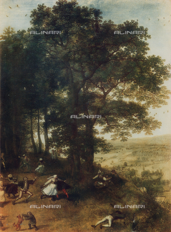 FDC-F-000546-0000 - Landscape with country dance; work of Jan Brueghel the Elder, Uffizi Gallery, Florence