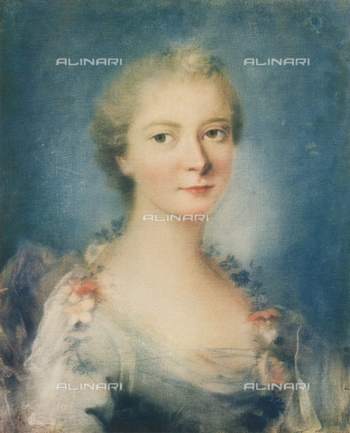 FDC-F-000557-0000 - Portrait of a lady; painting by Rosalba Carriera. Galleria Estense, Modena
