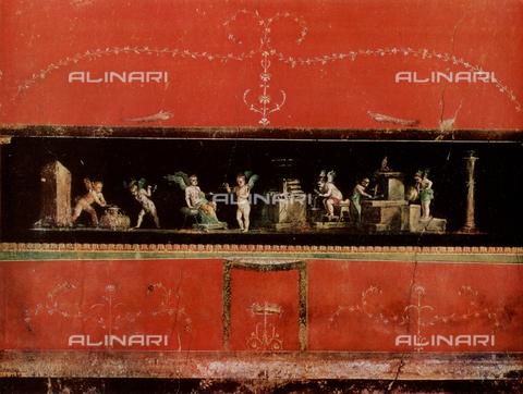 FDC-F-000652-0000 - Amorini orafi, affresco, Casa dei Vettii, Pompei Scavi, Pompei