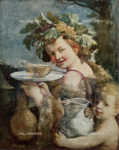 FDC-F-000661-0000 - Bacchino or Young Bacchus, Palatine Gallery, Palazzo Pitti, Florence