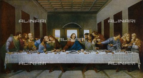 FDC-F-000730-0000 - Last Supper, Leonardo da Vinci, Cenacle of Santa Maria delle Grazie, Milan