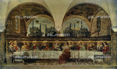 FDC-F-000736-0000 - The Last Supper, Museum of San Marco, Florence