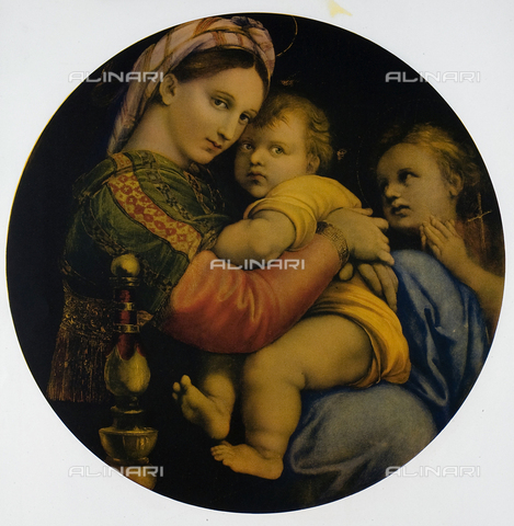 FDC-F-000744-0000 - The Madonna of the Chair, Galleria Pitti, Florence