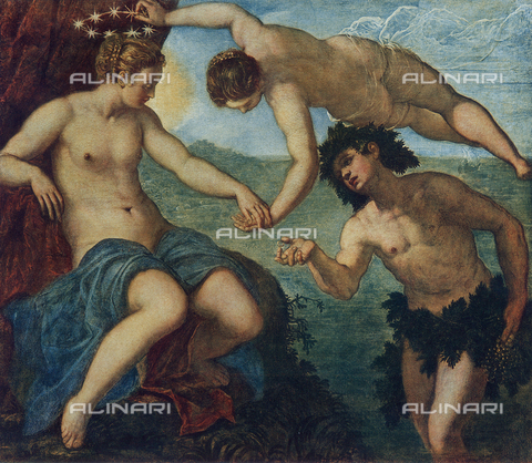FDC-F-000772-0000 - Bacchus finds Ariadne, Anticollegio, Doges' Palace, Venice.