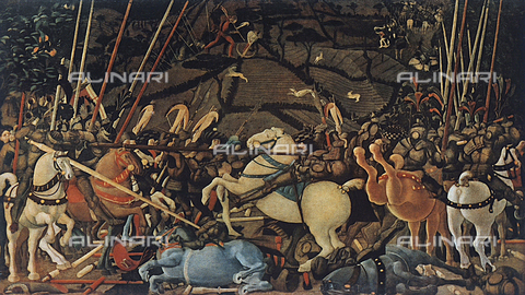 FDC-F-000812-0000 - The Battle of San Romano, Galleria degli Uffizi, Florence