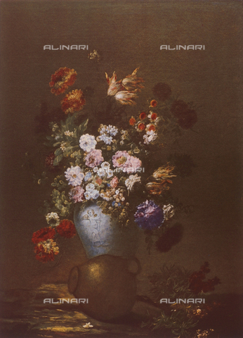 FDC-F-000815-0000 - Vase of Flowers; painting from the Flemish School. Uffizi Gallery, Florence