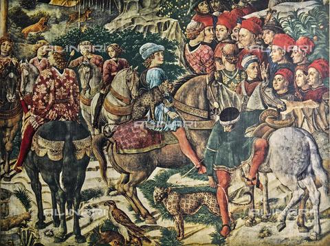 FDC-F-000854-0000 - Giuliano de' Medici; particolare della Cavalcata dei Magi, Cappella dei Magi, Palazzo Medici Riccardi, Firenze