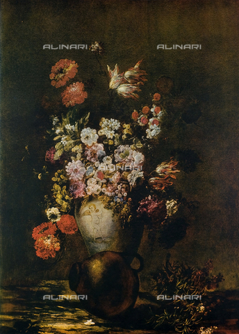 FDC-F-000868-0000 - Vase of Flowers, oil on canvas, unknown Flemish 18th cen., The Uffizi Gallery, Florence