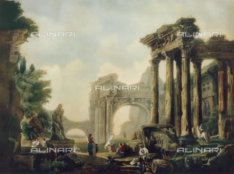 FDC-F-000880-0000 - Roman ruins; Pinacoteca, Parma