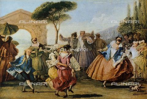 FDC-F-000917-0000 - The Minuet; Ca' Rezzonico, Venice