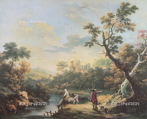 FDC-F-000919-0000 - Landscape; painting by Vittorio Amedeo Cignaroli. Museo Civico di Arte Antica, Turin