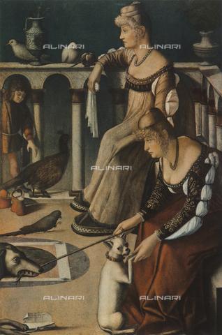 FDC-F-001080-0000 - Two Venetian Women, Museo Civico Correr, Venice