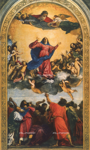 FDC-F-001084-0000 - Assumption of the Virgin, Church of Santa Maria Gloriosa dei Frari, Venice