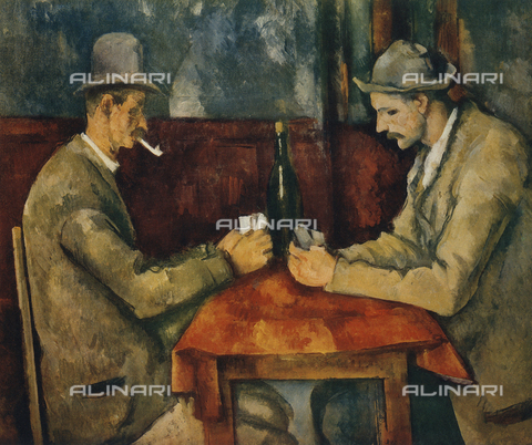 FDC-F-001093-0000 - Card Players, Musée d'Orsay, Paris