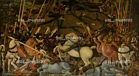 FDC-F-001123-0000 - Battle of San Romano, Paolo Uccello, Uffizi Gallery, Florence