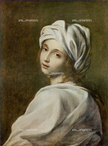 FDC-F-001124-0000 - Portrait of Beatrice Cenci; work of Guido Reni. National Gallery of Ancient Art, Rome