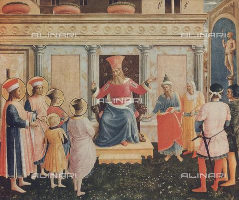 FDC-F-001157-0000 - I Santissimi Cosma e Damiano con i fratelli davanti al Proconsole Lisia; dipinto conservato all'Alte Pinakothek di Monaco