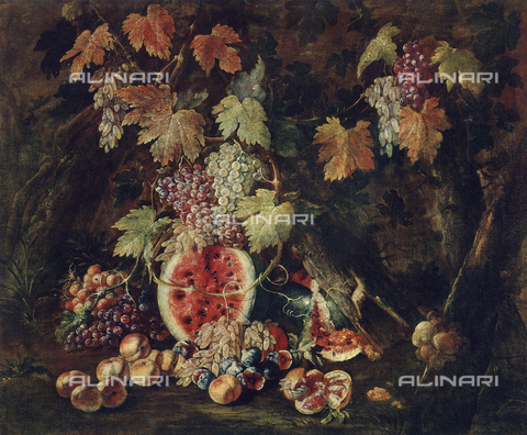 FDC-F-001216-0000 - Still life, painting by Giovan Battista Ruoppolo, Museum of San Martino, Naples