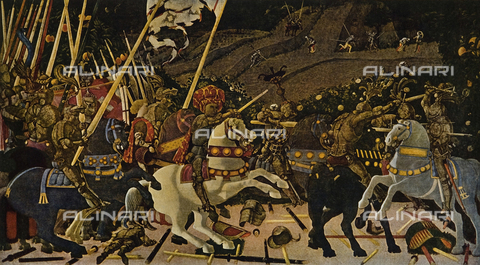 FDC-F-001272-0000 - The Battle of San Romano, National Gallery, London