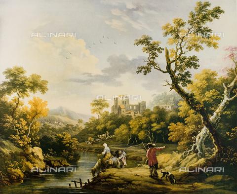 FDC-F-001332-0000 - Landscape; painting by Vittorio Amedeo Cignaroli. Museo Civico di Arte Antica, Turin