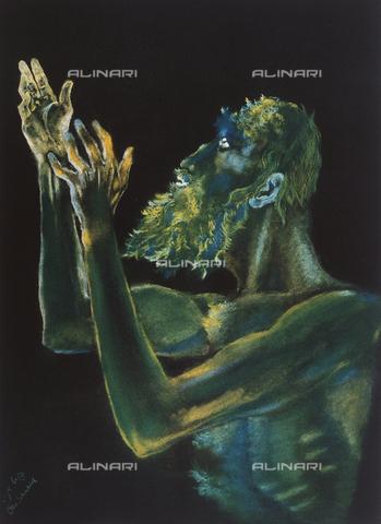 FDC-F-001356-0000 - Il profeta Ezechiele, Otto Schneid, Collezione Privata