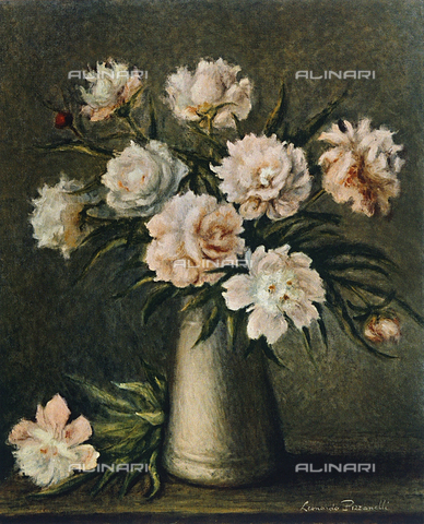 FDC-F-001357-0000 - Still life: flowers, Leonardo Pizzanelli, Private Collection
