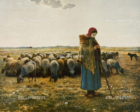 FDC-F-001415-0000 - The Shepherdess, Musée d'Orsay, Paris