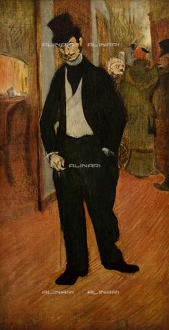FDC-F-001446-0000 - Dr. de Tapiè Celeyran, painting, Henri De Toulouse-Lautrec (1864-1901), Musee Toulouse-Lautrec, Albi