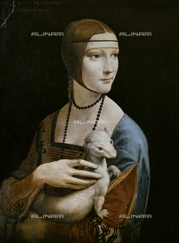 FDC-F-001475-0000 - Lady with the ermine, Czartorisky Museum, Kracow.