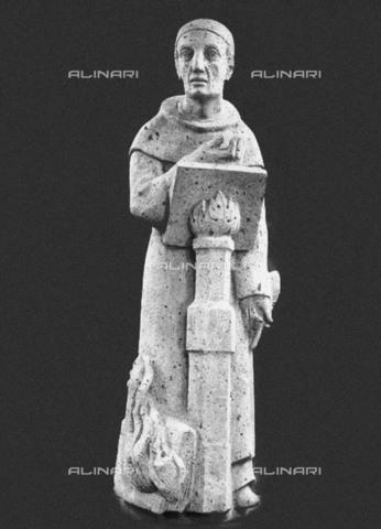 FIA-F-039966-0000 - Meister Eckhart von Hochheim, scultura, Arte tedesca del  primo quarto del XX secolo, Municipio, Colonia - Fine Art Images/Archivi Alinari, Firenze