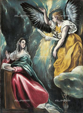 FIA-F-042355-0000 - Annunciazione, olio su tela, Greco El (Domenikos Theotokopoulos) (1541-1614), Ohara Museum of Art, Kurashiki - Fine Art Images/Archivi Alinari, Firenze