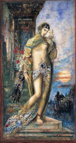 FIA-F-042360-0000 - Cantico dei Cantici, acquerello su carta, Moreau, Gustave (1826-1898), Ohara Museum of Art, Kurashiki - Fine Art Images/Archivi Alinari, Firenze