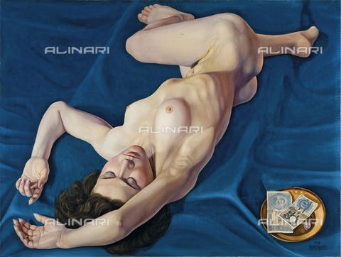 FIA-F-044672-0000 - Primo denaro, olio su tela, Cagnaccio di San Pietro (1897-1946), Collezione Privata - Fine Art Images/Archivi Alinari, Firenze