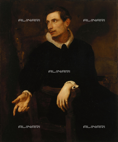 FIA-F-044714-0000 - Ritratto di Virginio Cesarini, olio su tela, Antoon Van Dyck (1599-1641), Museo statale dell' Ermitage, San Pietroburgo - Fine Art Images/Archivi Alinari, Firenze