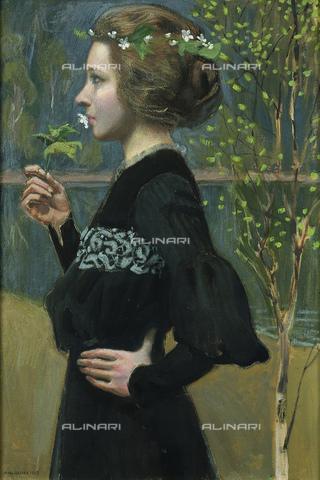 FIA-F-048509-0000 - Primavera, olio su tela, Gallen-Kallela, Akseli (1865-1931), Gà¶sta Serlachius Fine Arts Foundation, Mà¤nttठ- Fine Art Images/Archivi Alinari, Firenze