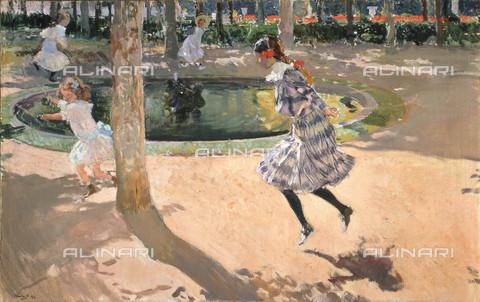 FIA-F-057918-0000 - Saltando la corda, olio su tela, Sorolla y Bastida, Joaquàn (1863-1923), Museo Sorolla, Madrid - Fine Art Images/Archivi Alinari, Firenze