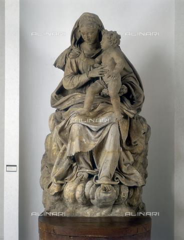 FIN-S-MGE000-0077 - Madonna with Child, sculpture by Antonio Begarelli, conserved at the Galleria Estense in Modena - Reproduced with the permission of Ministero per i Beni e le Attività Culturali / Finsiel/Alinari Archives