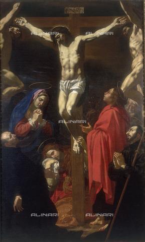 FIN-S-MGE000-0196 - Crucifixion, work by Antonio Circignani, conserved at the Galleria Estense in Modena - Reproduced with the permission of Ministero per i Beni e le Attività Culturali / Finsiel/Alinari Archives