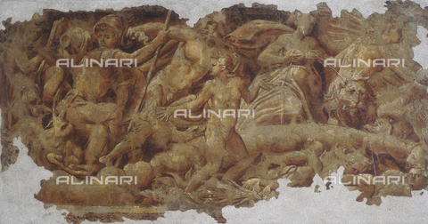 FIN-S-MGE000-0333 - Fresco by Lelio Orsi, conserved at the Galleria Estense in Modena - Reproduced with the permission of Ministero per i Beni e le Attività Culturali / Finsiel/Alinari Archives