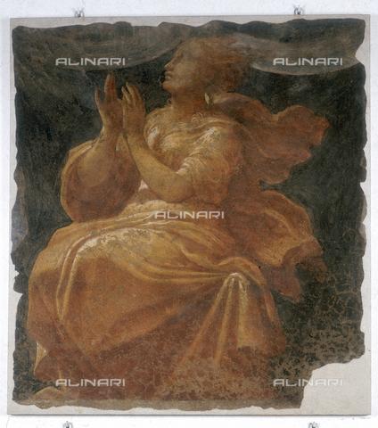 FIN-S-MGE000-064b - Virtue, work by Alberto Fontana and Niccolò dell'Abate, conserved at the Galleria Estense in Modena - Reproduced with the permission of Ministero per i Beni e le Attività Culturali / Finsiel/Alinari Archives