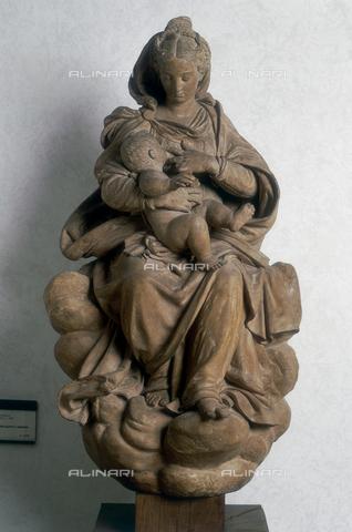 FIN-S-MGE000-075a - Our Lady of Milk, sculpture by Antonio Begarelli, conserved at the Galleria Estense in Modena - Reproduced with the permission of Ministero per i Beni e le Attività Culturali / Finsiel/Alinari Archives