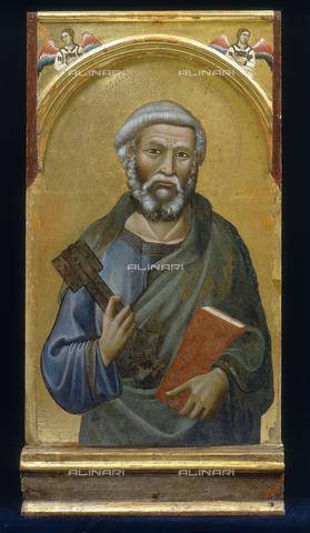 FIN-S-PG0000-0023 - San Pietro, pannello del Polittico di Montelabate, Meo da Siena, Perugia - Finsiel/Archivi Alinari