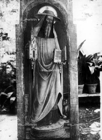 FPA-F-003865-0000 - St. Jerome, tempera on panel, Church of San Francesco della Vigna, Venice - Date of photography: 1945 ca. - Alinari Archives-Fiorentini Archive, Florence