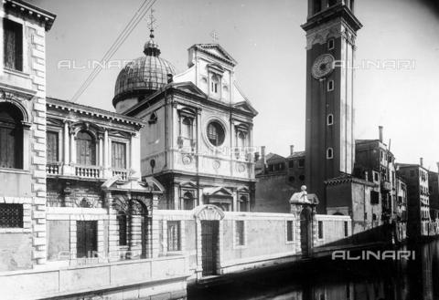 FPA-F-005594-0000 - Church of S. Giorgio dei Greci, Venice - Date of photography: 1935 ca. - Alinari Archives-Fiorentini Archive, Florence