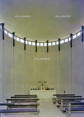 FVA-S-260000-0022 - Chiesa di San Lorenzo Giustiniani, interno, Mestre, Venezia - Data dello scatto: 1961 - Archivi Alinari-donazione Ferruzzi, Firenze